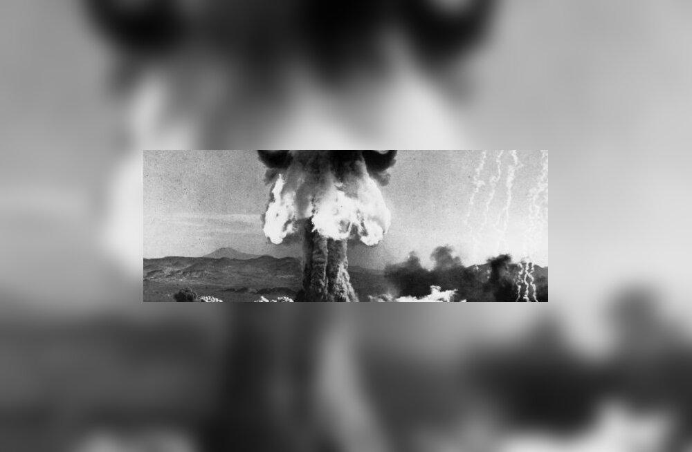 Jaapanil oli USA-ga salajane tuumarelvaleping