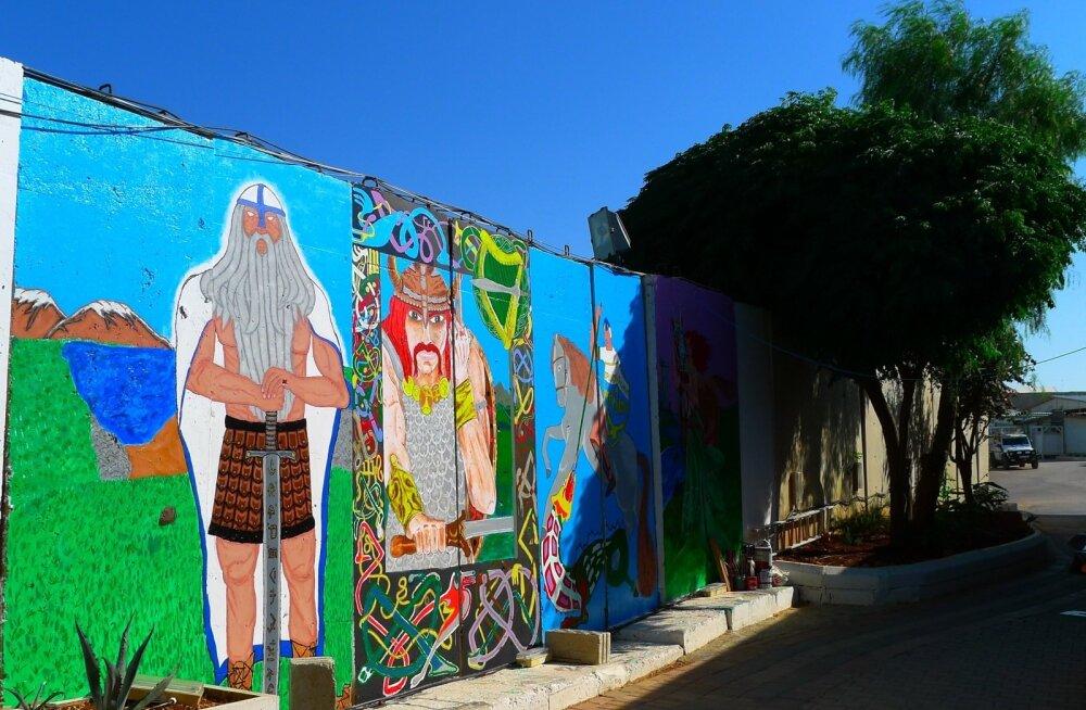 Müürikunst Liibanonis