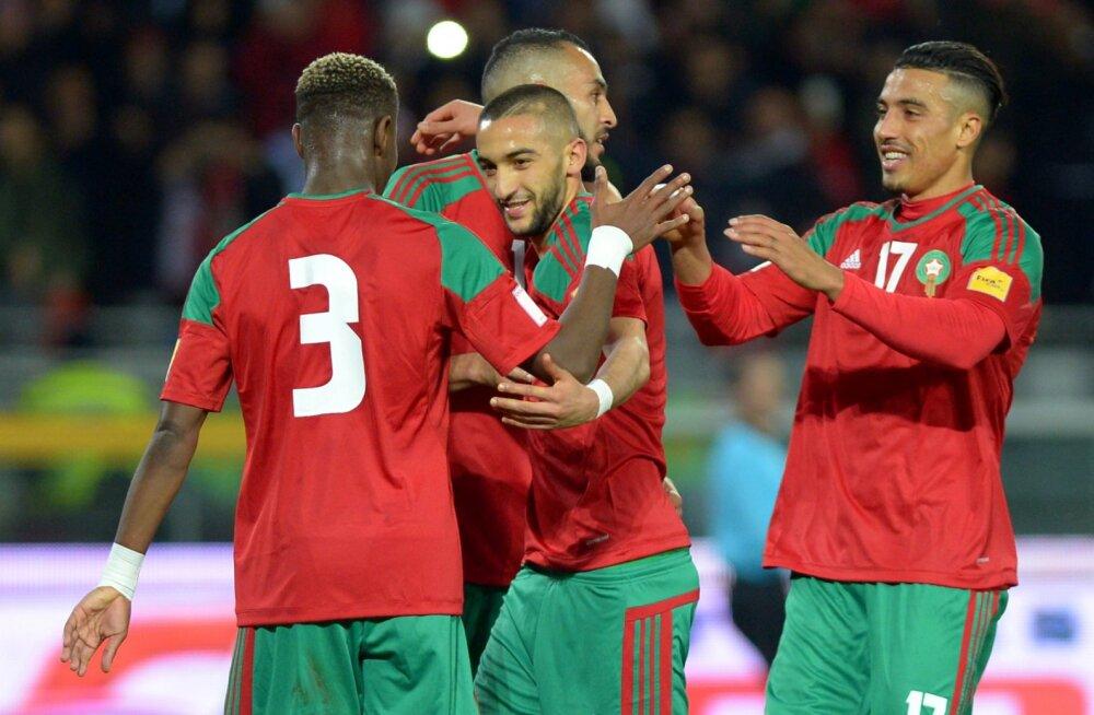 Juunis Eestiga kohtuv Maroko pole proosalisel põhjusel oma MM-i särki veel avaldanud