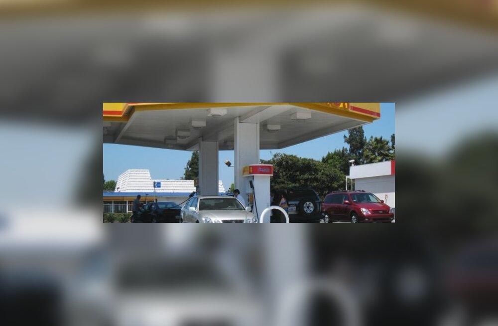 Ontlik bensiinijaam Los Angeleses. Foto Natalia Seliverstova, RIA Novosti