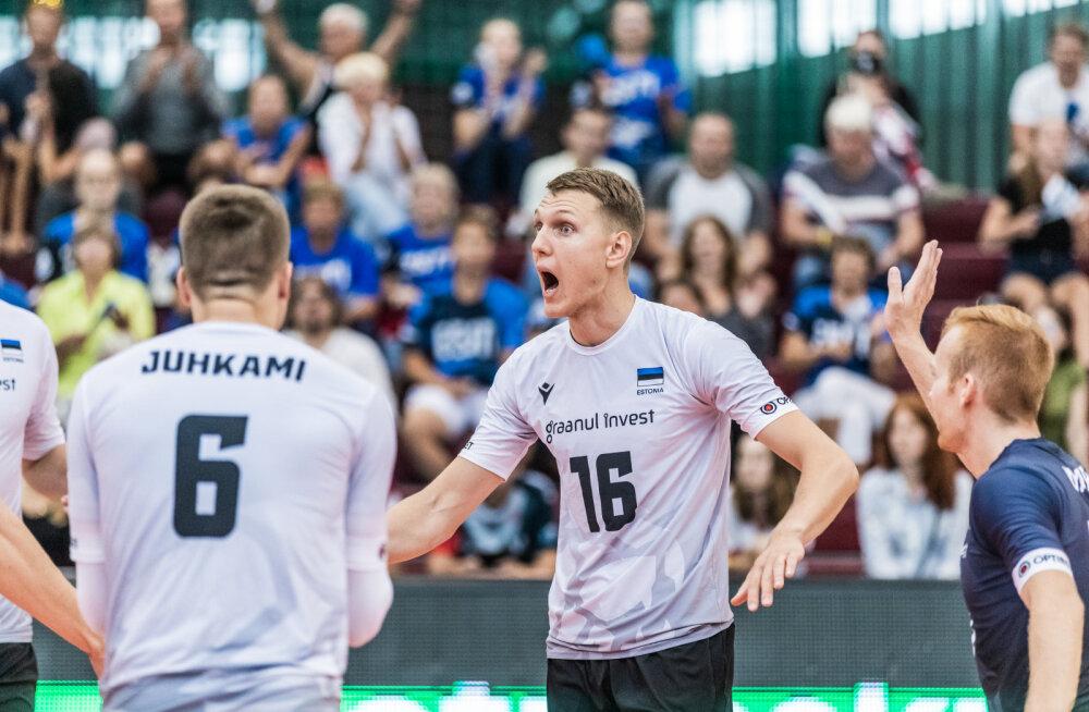 FOTO | Eesti võrkpallikoondislase koduklubis tuvastati suur koroonakolle, Viiber peab koroonatesti vastust ootama esmaspäevani