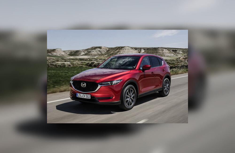 WhatCari autotest: vastuoluline Mazda CX-5 avaneb aeglaselt, aga väärib ootamist