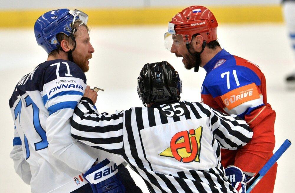 Leo Komarov ja Ilja Kovalchuk