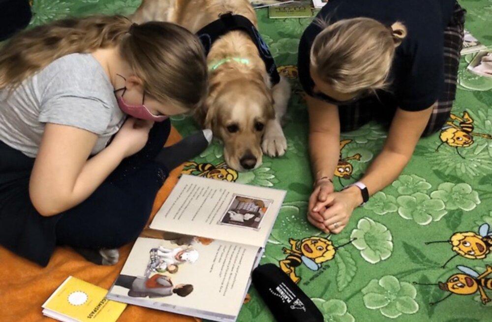 103 HEATEGIJAT | Terhh ja teraapiakoer Jessie: kaks empaatilist hinge pakuvad lastele tuge