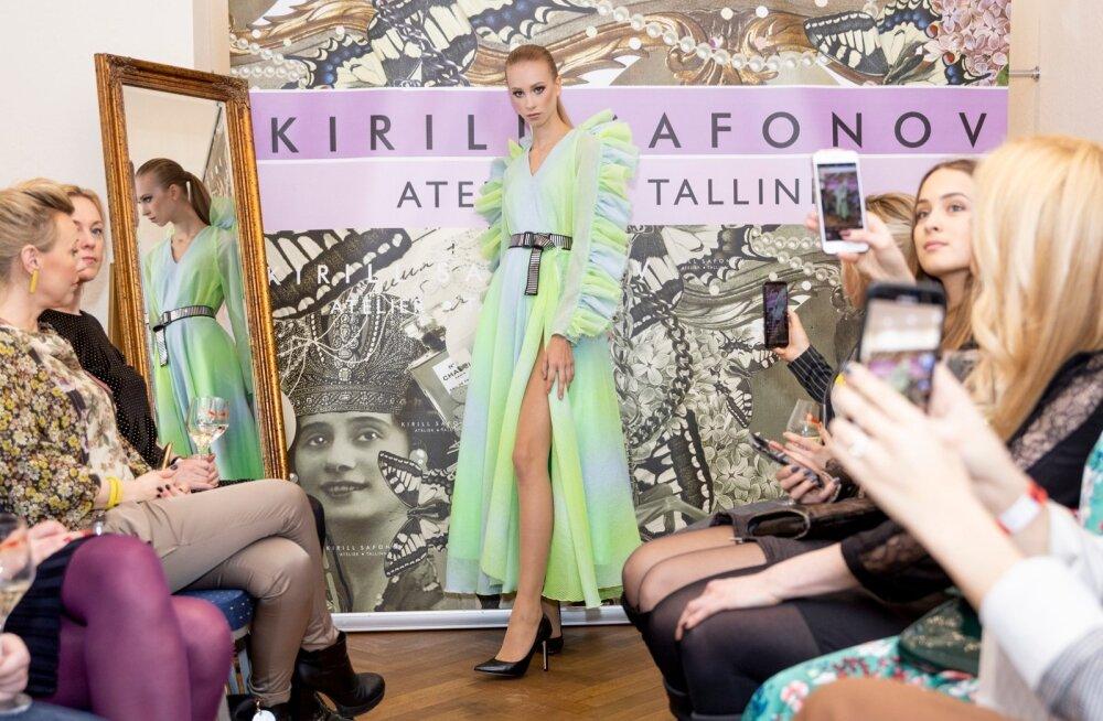 Kirill Safonovi kleidi peategelaseks on varrukad ja helged toonid.
