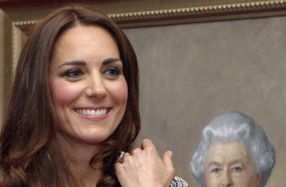 Kuninglikku perekonda lõplikult vastu võetud: Kate Middleton sai kuningannalt väga erilise kingituse