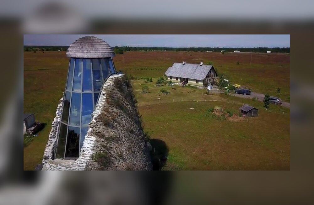 VIDEO   Kostivere veski varemed muudeti moodsaks vaatamisväärsuseks