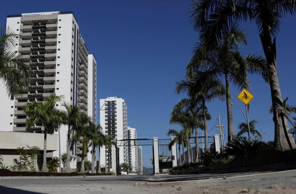 Rio olümpiakülast on saanud kummituslinn, kus ei taha keegi elada