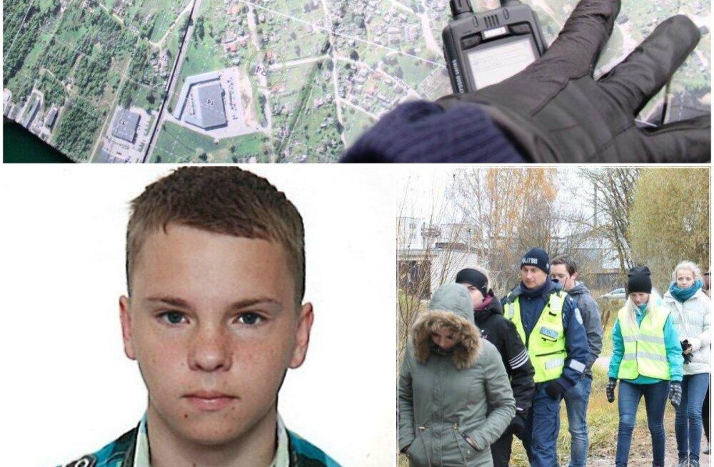 """Telefon vihjetest ja """"pendlimeeste"""" kõnedest punane: politsei lõpetas 17-aastase Markkuse maastikuotsingud, edasi kontrollitakse vihjeid"""