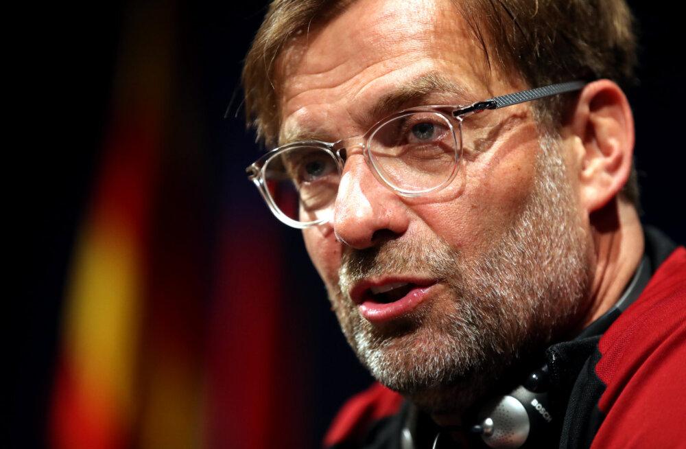 Jürgen Klopp pärast 0:3 kaotust: see oli meie kahe viimase hooaja parim võõrsilmäng