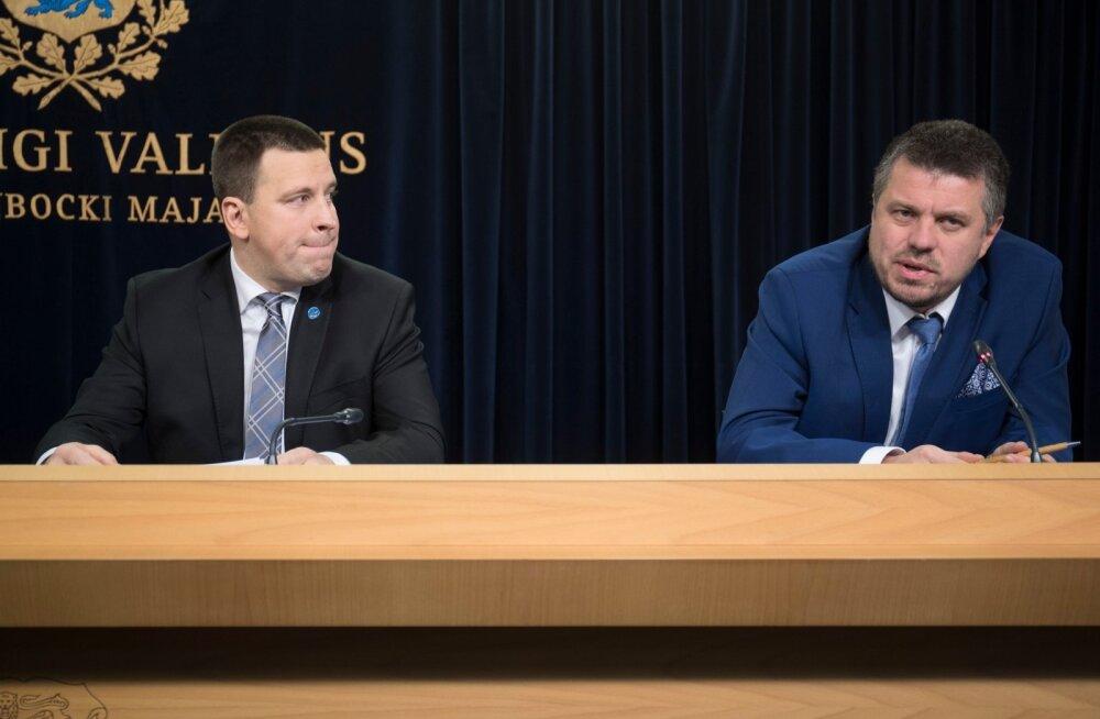 Jüri Ratas: Urmas Reinsalu sõnakasutus on sobimatu, soovitasin tal vabandada