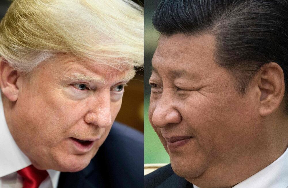 ÕHUS ON ÄIKEST   Trumpi ähvardab Hiina kättemaks