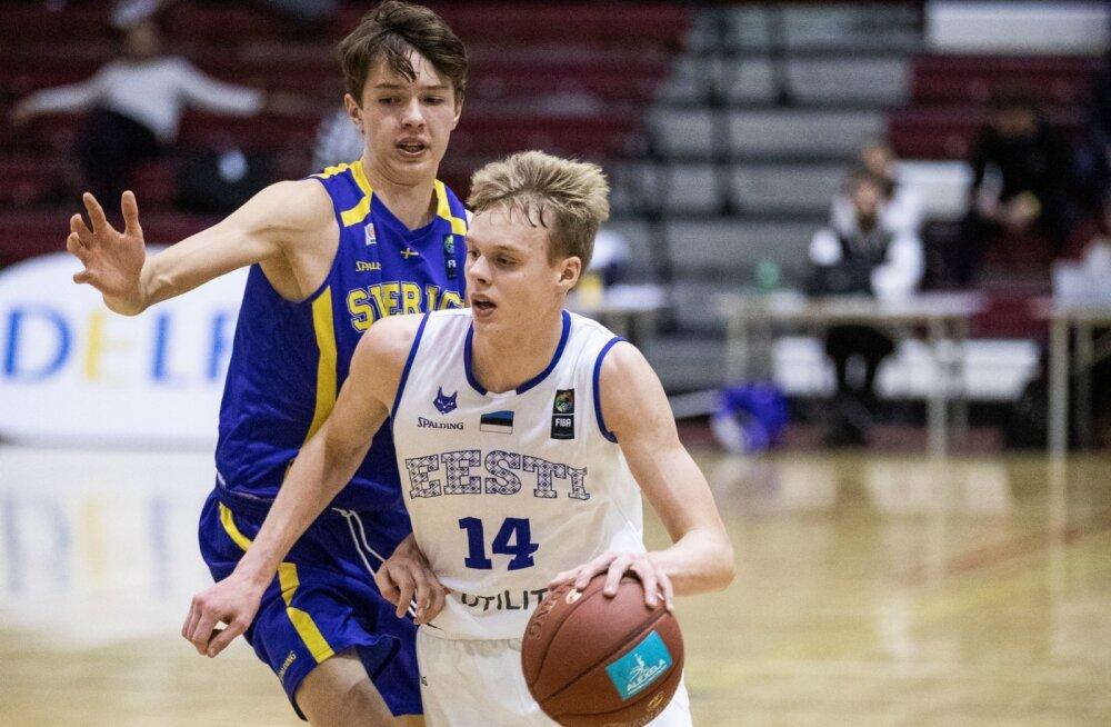 Korvpall U18_ Eesti-Rootsi