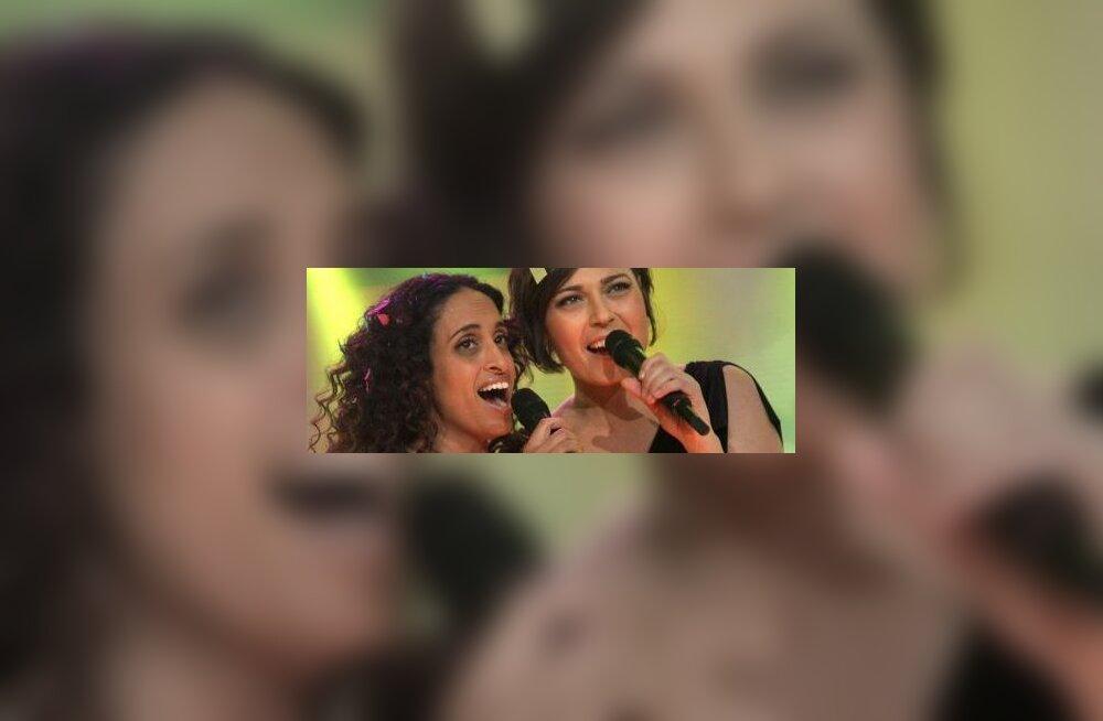 VIDEO: Iisraeli eurolaulu esitab juudi-araabia duo