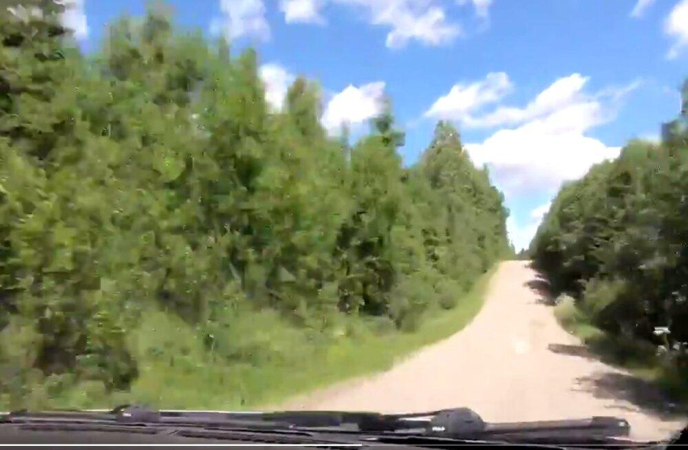 VIDEO   Lenda koos Ott Tänakuga üle Soome teede trampliinide!