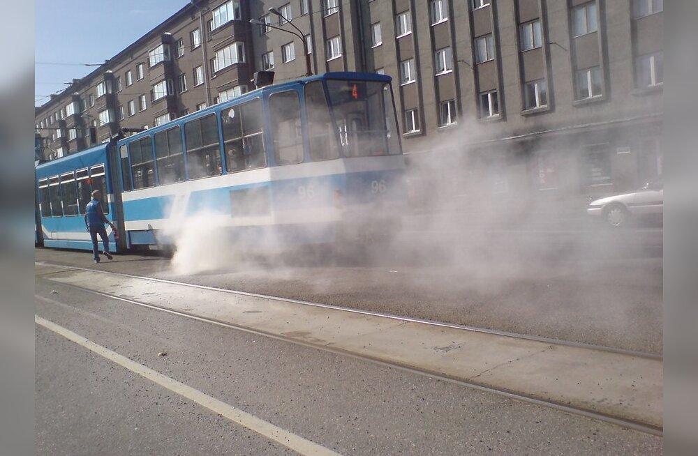 Tossav tramm