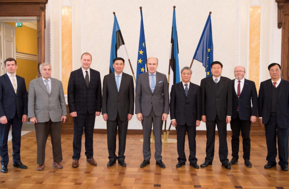 Комиссия по сельской жизни Рийгикогу обсудила с китайскими коллегами возможности расширения сотрудничества