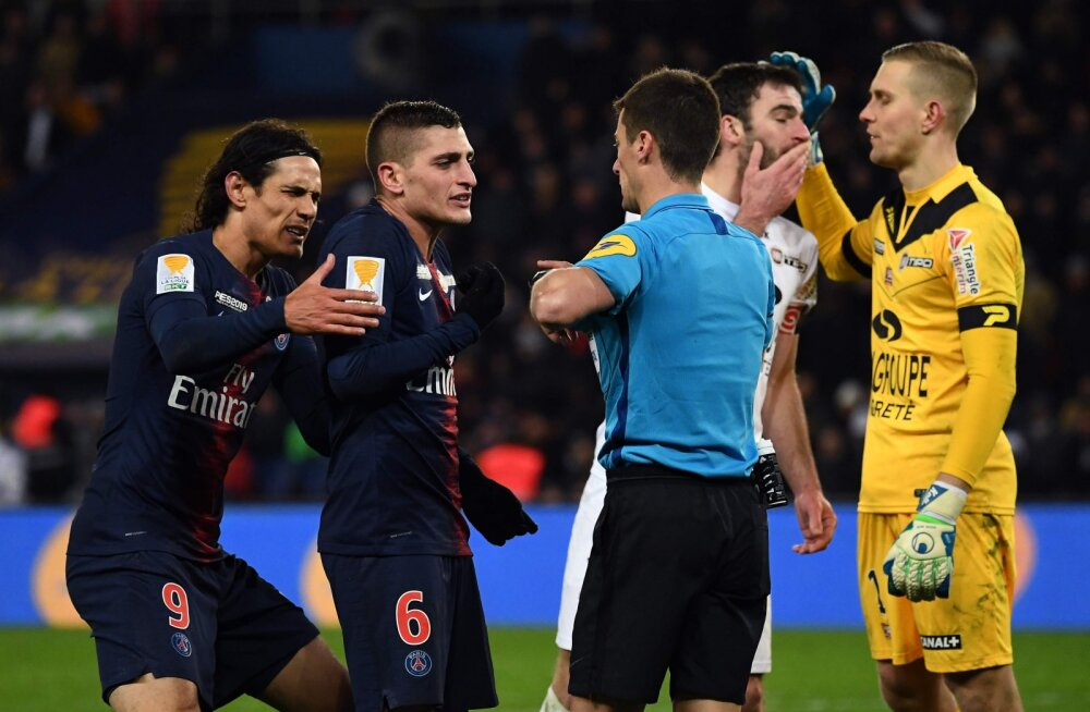 VIDEO | PSG sai üllatuskaotuse ning langes karikasarjas konkurentsist