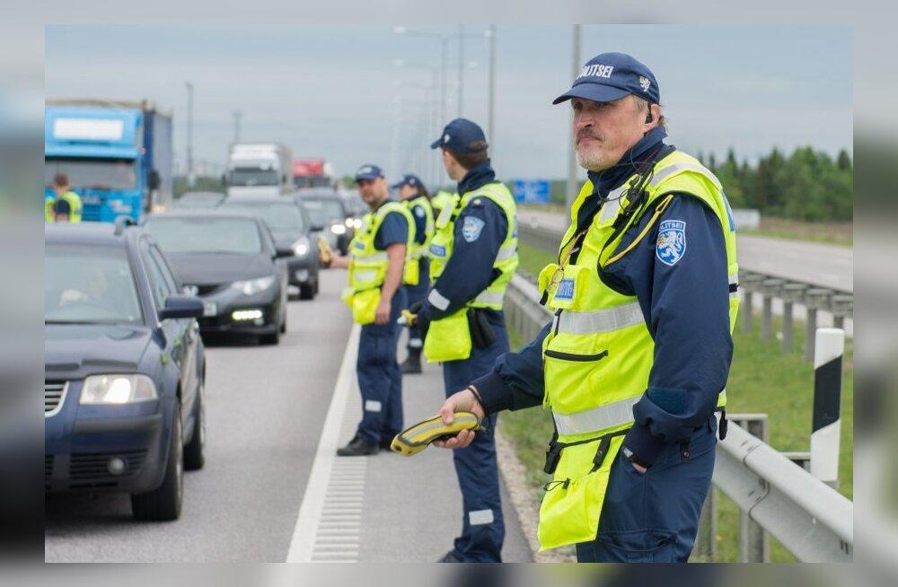 Politseireid Tallinna piiril