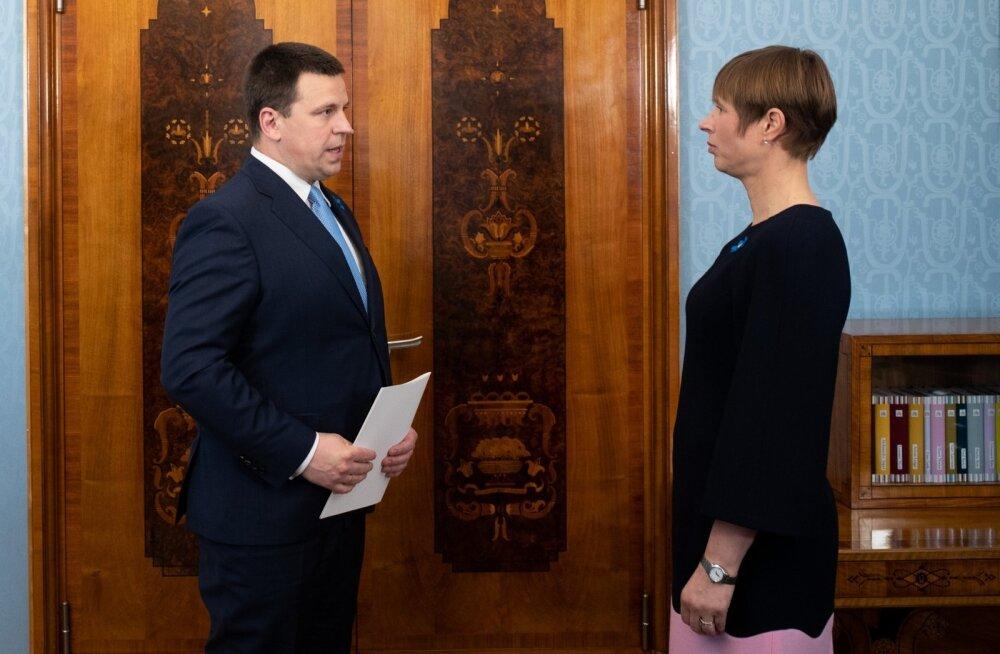 President ja peaminister pühapäeval Tartu Ülikooli juubeliaktusel ei osale