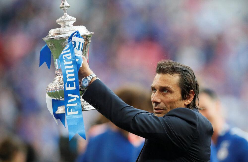 Antonio Conte eelmisel kevadel FA karikaga