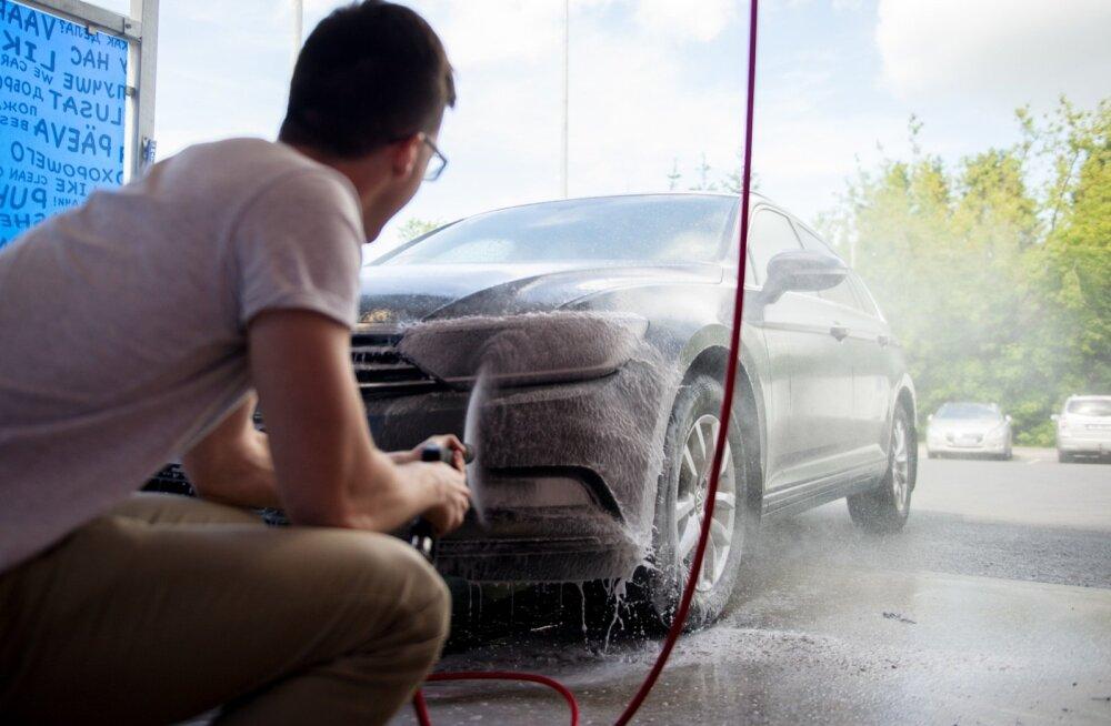 Katsest selgus, et pesulate hinnad on pea identsed: poole euroga saab autot pesta 50 sekundit.