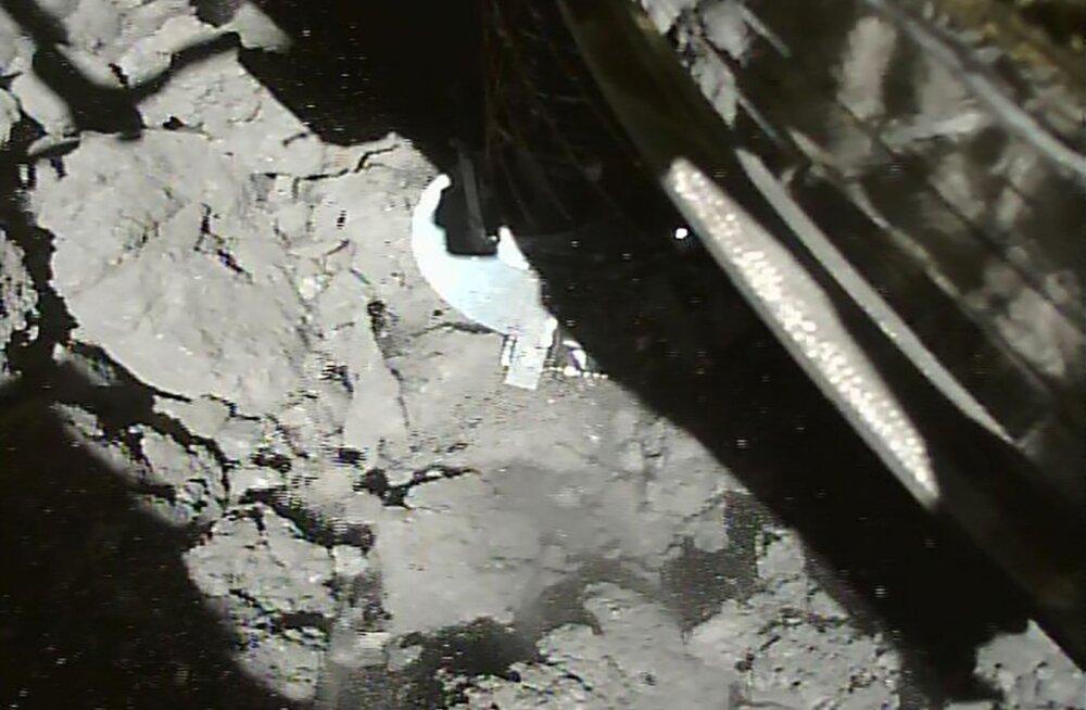 Jaapani kosmosesond Hayabusa2 maandus teist korda asteroidile