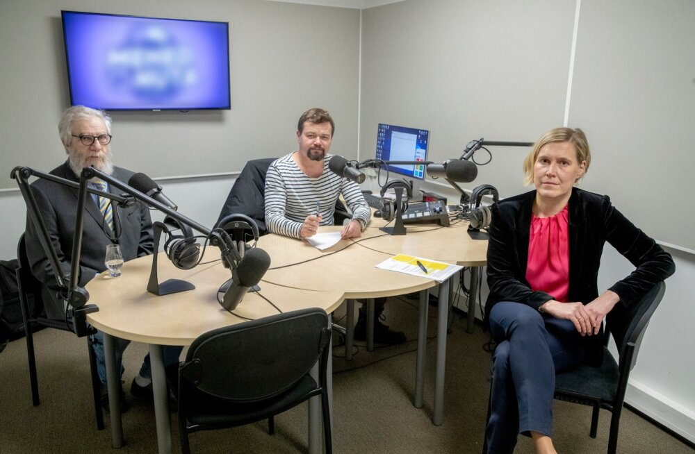 Podcast-Ülle Madise ja Mihhail Lotman, Krister Paris