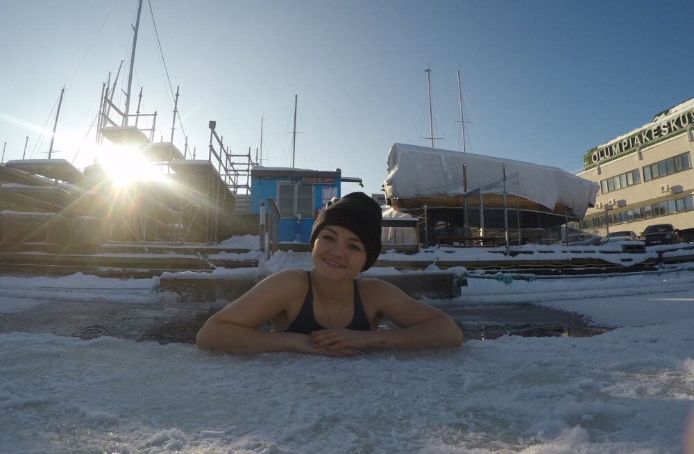 Siret Tuula väljakutse: ujuda aasta aega iga päev
