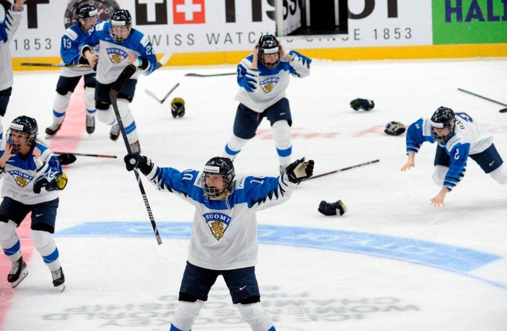 Soomlannad tähistasid juba MM-tiitli võitmist, kuid jäid sellest lõpuks ikkagi ilma.