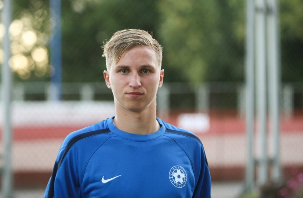 Bogdan Vaštšuk 2013. aasta U-19 koondise maavõistlusel Inglismaa vastu Kadrioru staadionil