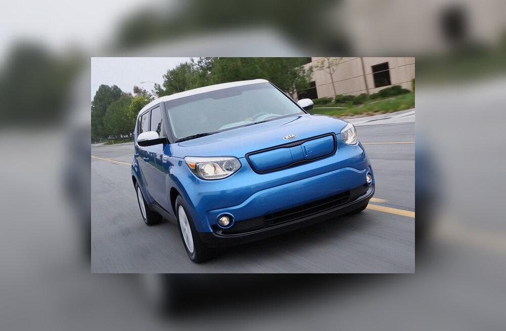 Kia näitas Chicagos elektriautot Soul EV