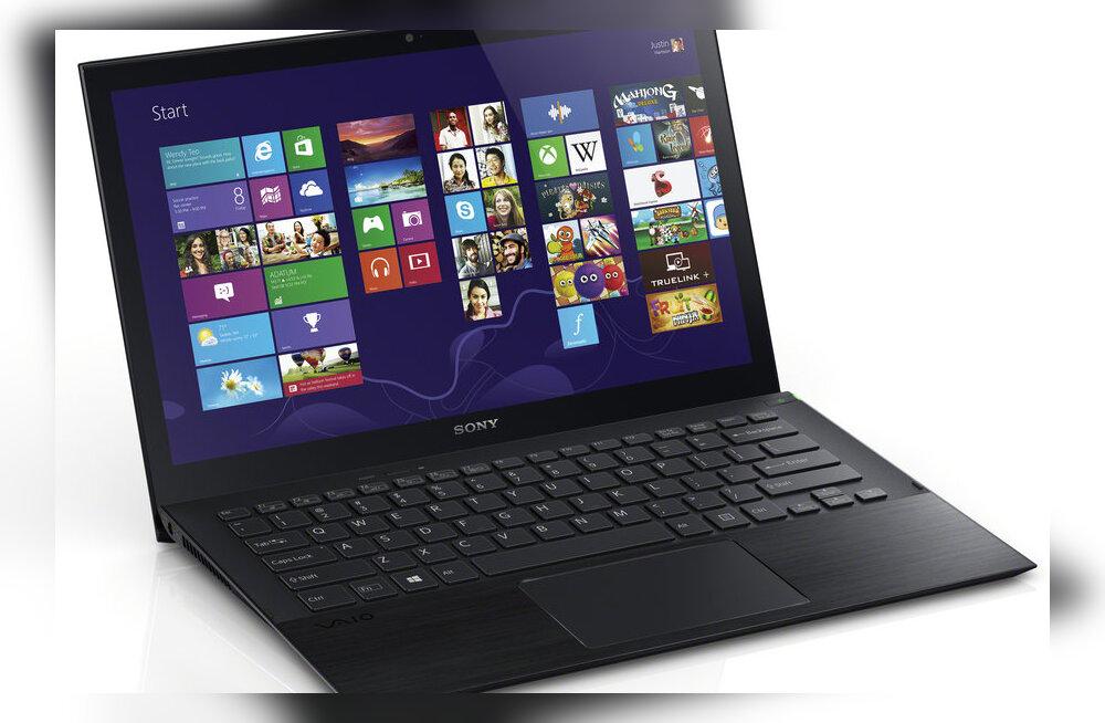 Arvustus: Sony sülearvuti Vaio Pro 13 kangutab uusimalt MacBook Airilt <em>ultrabook</em>ide trooni
