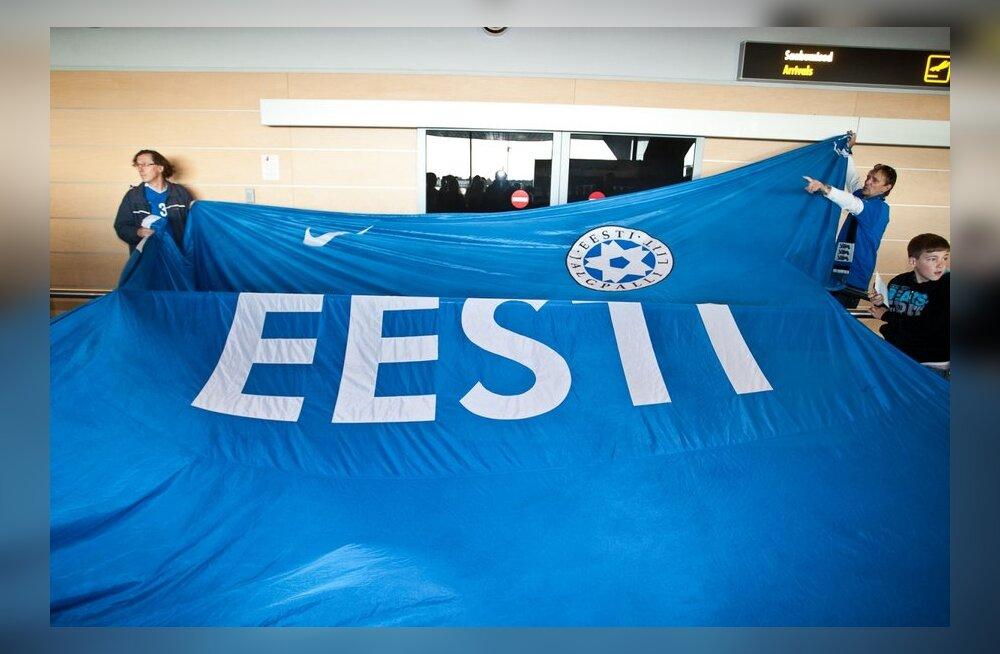 Eesti jalgpallikoondis maailma üheksas meeskond!