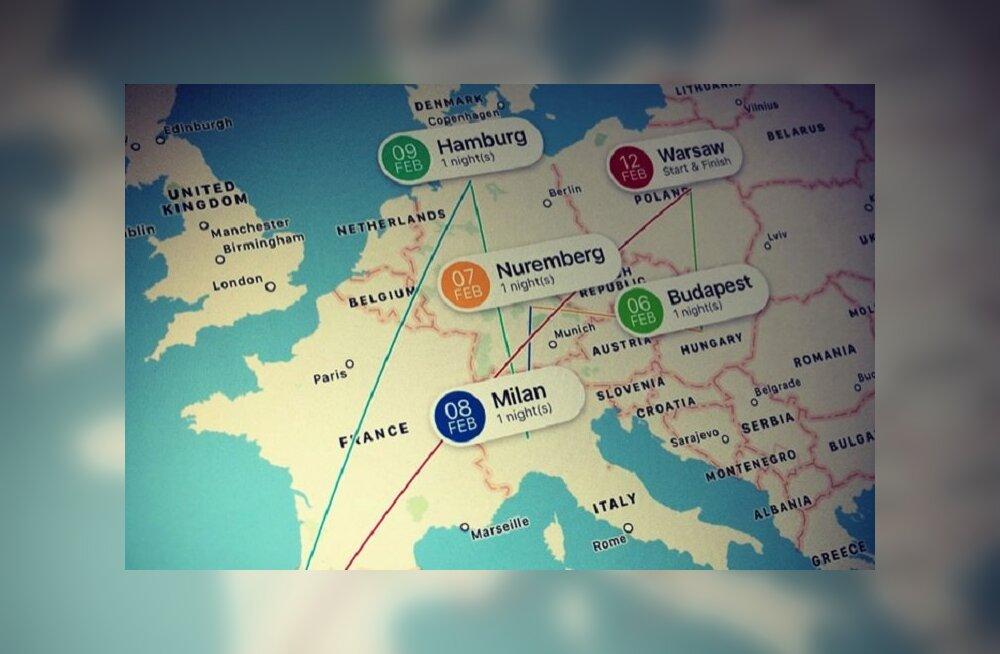 Белорусы разработали конструктор мультипутешествий по Европе