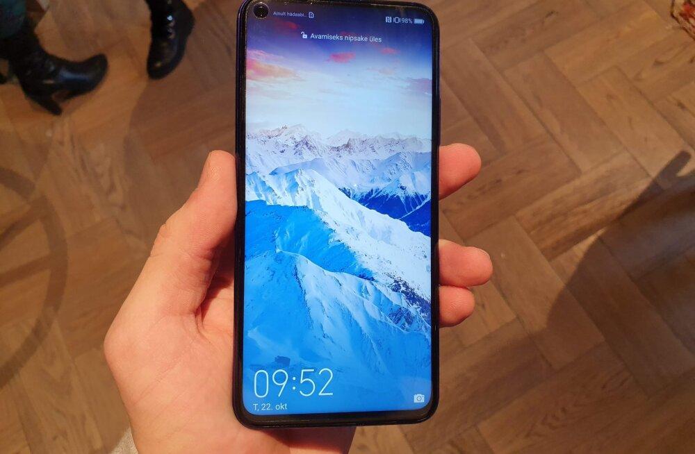 Huawei uus mudel: tütarfirma vana telefon, mis on mingil põhjusel märgatavalt kallim