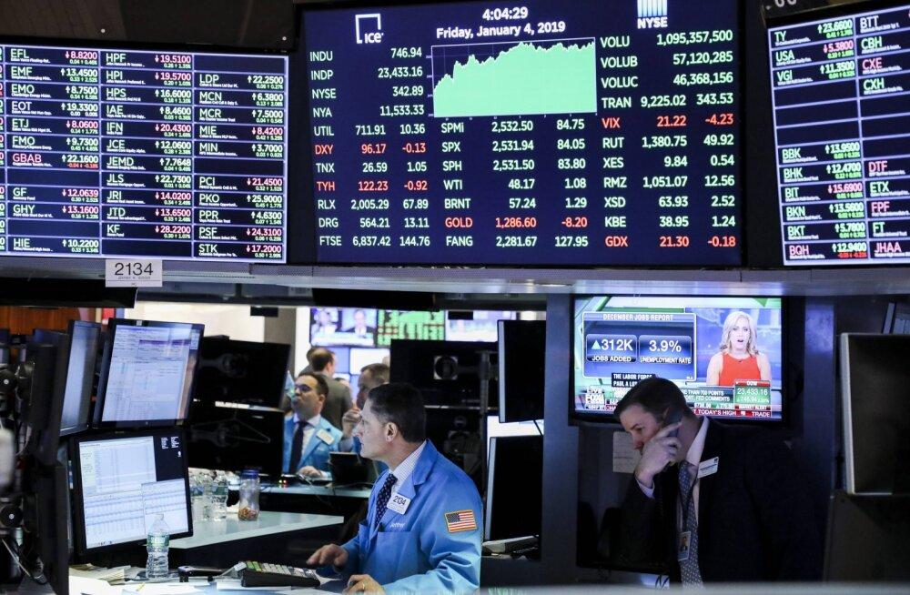 USA aktsiaturgudel toimus võimas taastumine