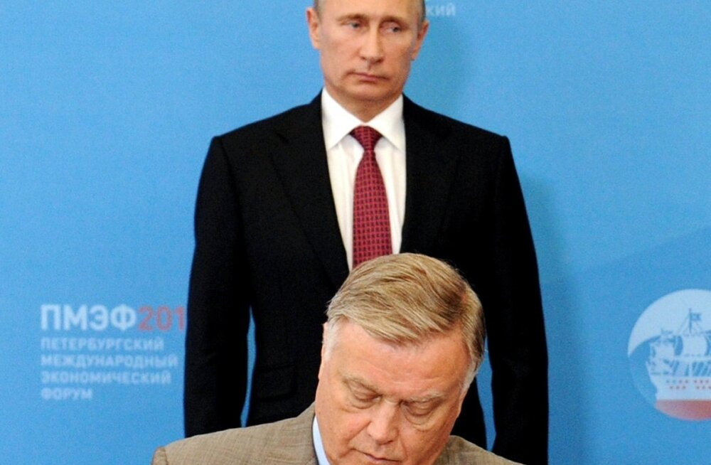Putin, Jakunin