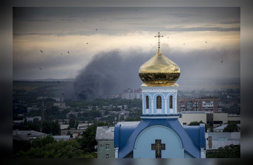 Luganskis on viimase ööpäevaga hukkunud 8 tsiviilisikut