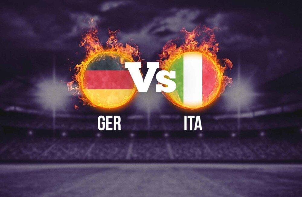 Saksamaa - Itaalia