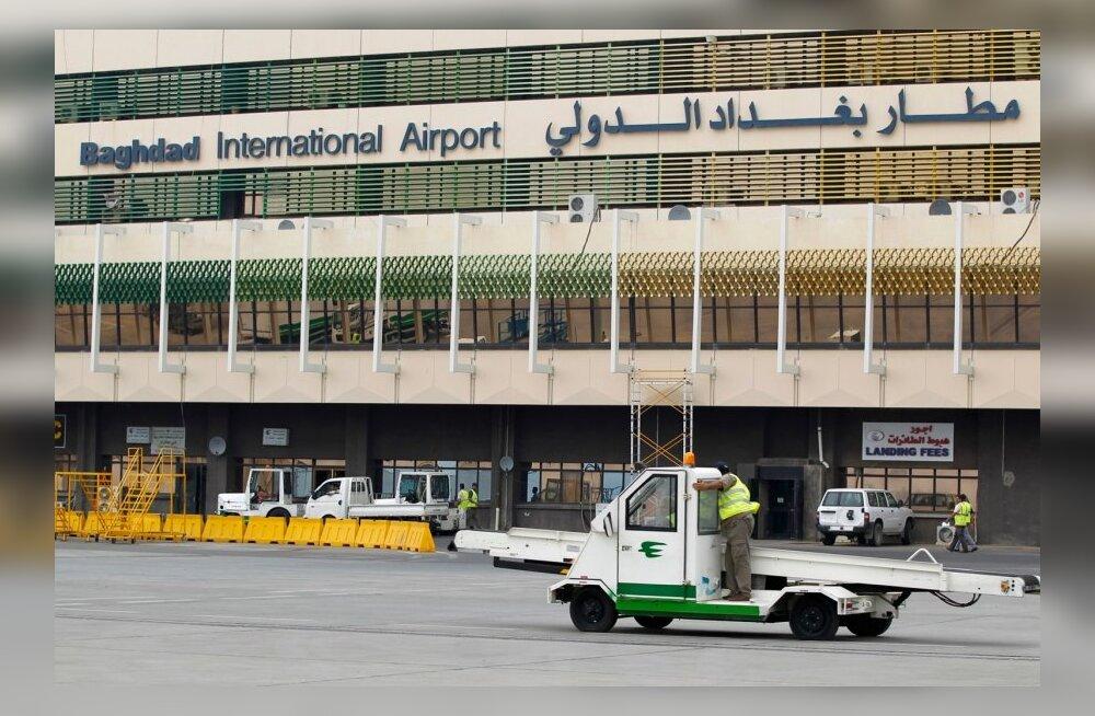Bagdadi lennuväljal tulistati reisilennukit