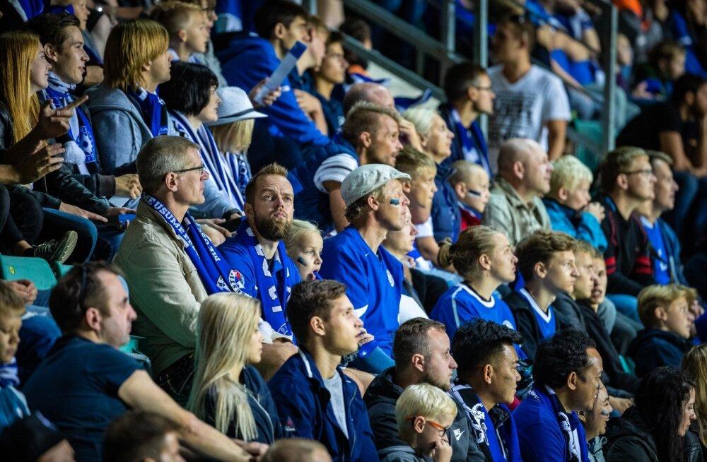 Eesti - Kreeka mängu publik