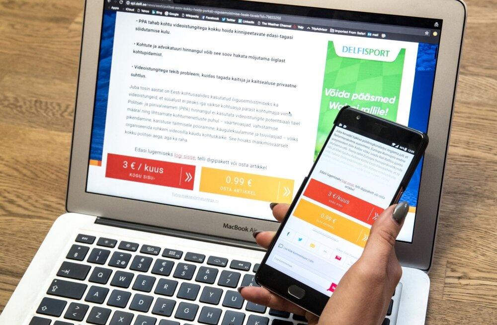 Viis tähtsat turvaviga, mida sa iga päev veebis teed