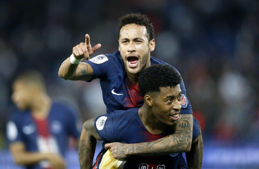 Neymar ja Presnel Kimpembe
