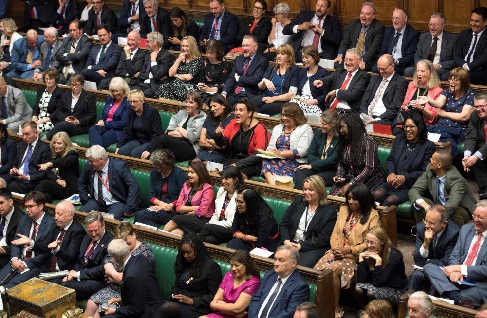 Suurbritannia parlamendi tööseisak algab pärast tänast istungit