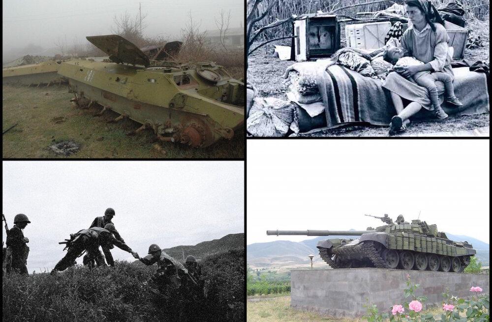1992. aasta talvel meenutas Mägi-Karabahhi pealinnas toimuv Leningradi blokaadi