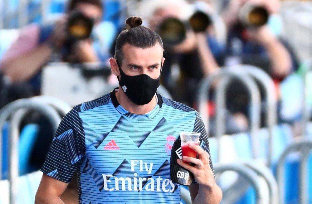 Gareth Bale vaatas Hispaania liigahooaja lõpus kohtumisi kõrvalt.