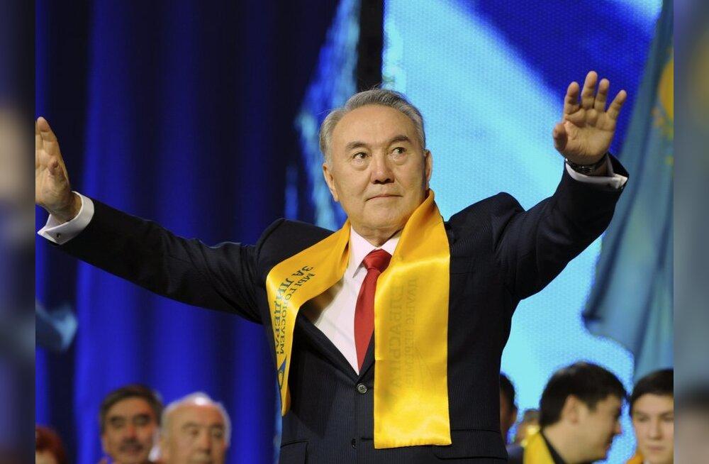 Kasahstani riigipea Nursultan Nazarbajev tuleb Eestisse