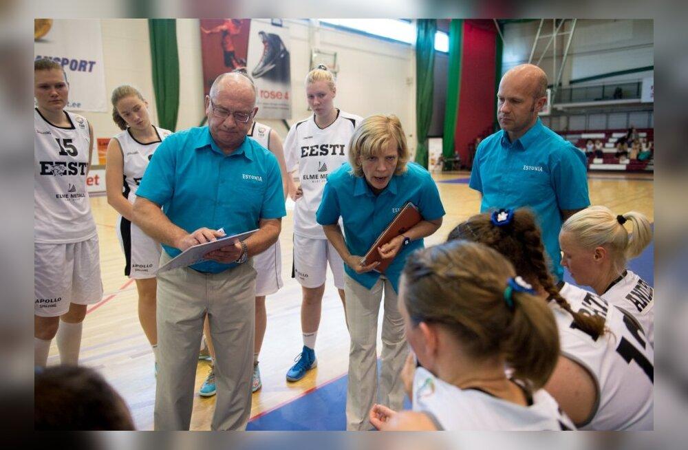 Eesti korvpallinaiskond lendab rahutule Prantsusmaale