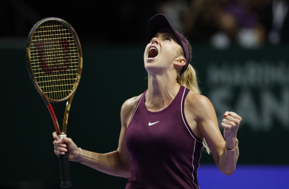 WTA aastalõputurniiri finalist Elina Svitolina